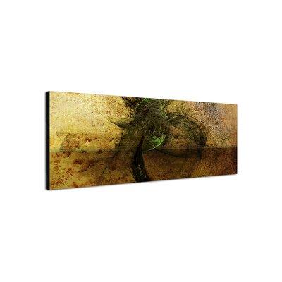 PaulSinusArt Enigma Panorama Abstrakt 463 Painting Print on Canvas