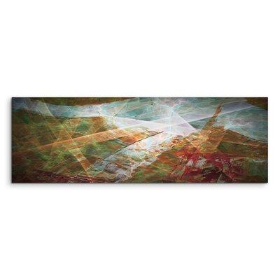 PaulSinusArt Enigma Panorama Abstrakt 1200 Painting Print on Canvas