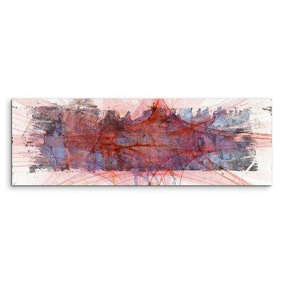PaulSinusArt Enigma Panorama Abstrakt 1201 Painting Print on Canvas