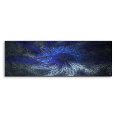 PaulSinusArt Enigma Panorama Abstrakt 1202 Painting Print on Canvas