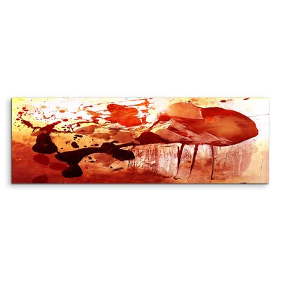 PaulSinusArt Enigma Panorama Abstrakt 837 Painting Print on Canvas