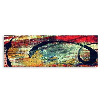 PaulSinusArt Enigma Panorama Abstrakt 963 Painting Print on Canvas