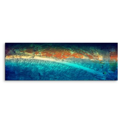 PaulSinusArt Enigma Panorama Abstrakt 965 Painting Print on Canvas