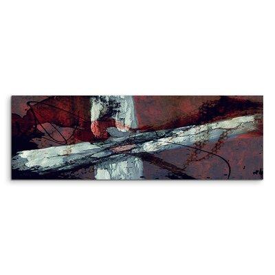 PaulSinusArt Enigma Panorama Abstrakt 966 Painting Print on Canvas