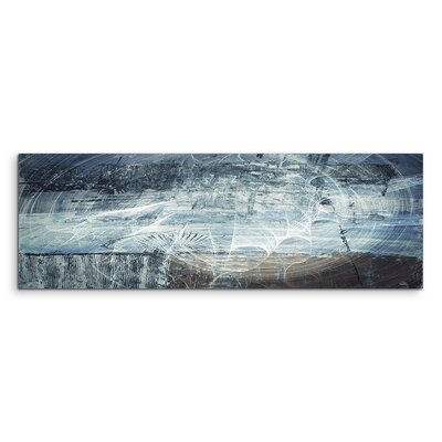 PaulSinusArt Enigma Panorama Abstrakt 1460 Painting Print on Canvas