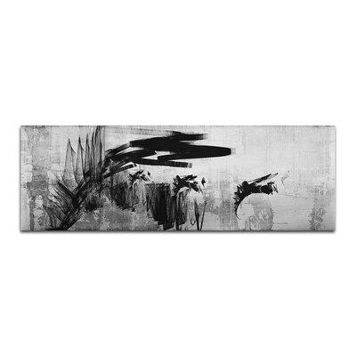 PaulSinusArt Enigma Panorama Abstrakt 466 Painting Print on Canvas