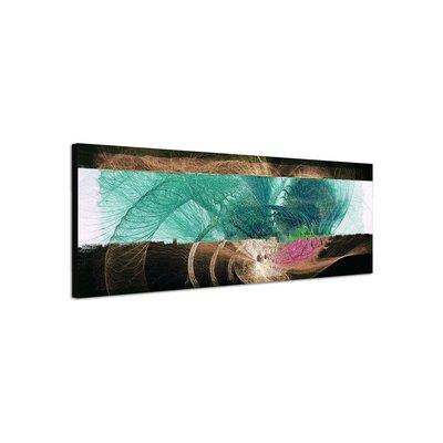 PaulSinusArt Enigma Panorama Abstrakt 469 Painting Print on Canvas