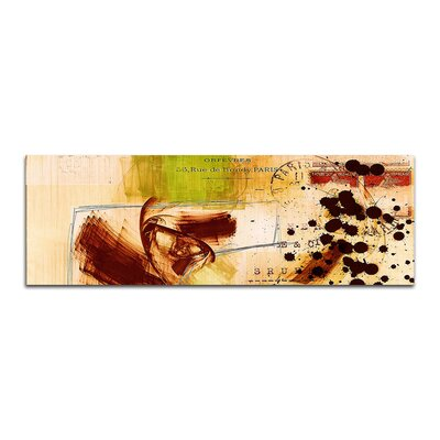 PaulSinusArt Enigma Panorama Abstrakt 470 Painting Print on Canvas