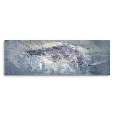 PaulSinusArt Enigma Panorama Abstrakt 1212 Painting Print on Canvas
