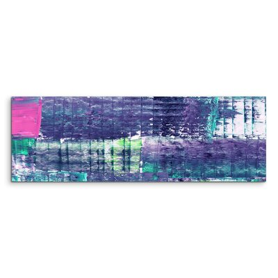 PaulSinusArt Enigma Panorama Abstrakt 972 Painting Print on Canvas