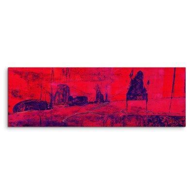PaulSinusArt Enigma Panorama Abstrakt 973 Painting Print on Canvas