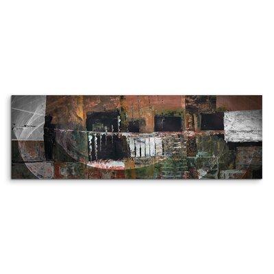 PaulSinusArt Enigma Panorama Abstrakt 1474 Painting Print on Canvas
