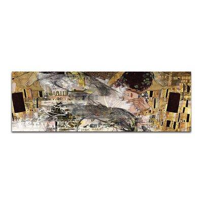 PaulSinusArt Enigma Panorama Abstrakt 476 Painting Print on Canvas