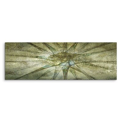 PaulSinusArt Enigma Panorama Abstrakt 1151 Painting Print on Canvas