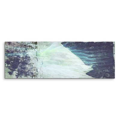 PaulSinusArt Enigma Panorama Abstrakt 1214 Painting Print on Canvas