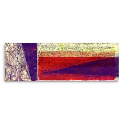 PaulSinusArt Enigma Panorama Abstrakt 574 Painting Print on Canvas