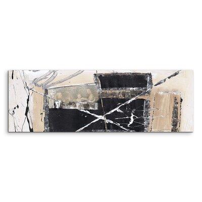 PaulSinusArt Enigma Panorama Abstrakt 577 Painting Print on Canvas
