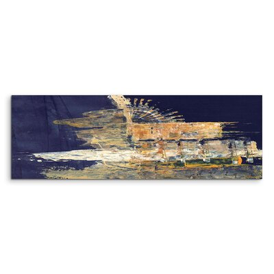 PaulSinusArt Enigma Panorama Abstrakt 978 Painting Print on Canvas