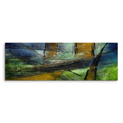 PaulSinusArt Enigma Panorama Abstrakt 979 Painting Print on Canvas