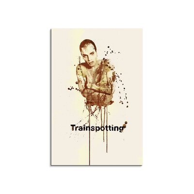 PaulSinusArt Enigma Trainspotting Painting Print on Canvas