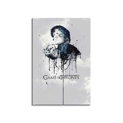 PaulSinusArt Enigma Tyrion Lennister Game of Thrones Painting Print on Canvas