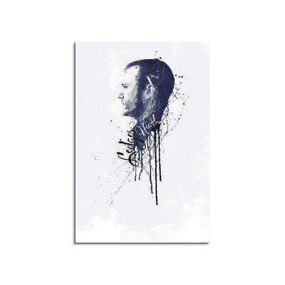 PaulSinusArt Enigma Heath Ledger II Painting Print on Canvas