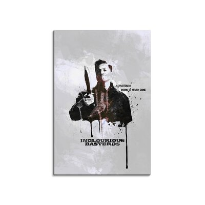 PaulSinusArt Enigma Inglourious Basterds Painting Print on Canvas