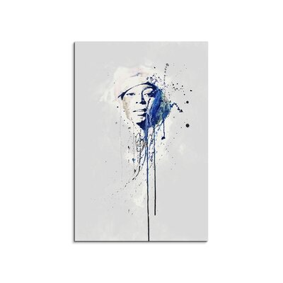 PaulSinusArt Enigma Beyoncé Knowles Painting Print on Canvas
