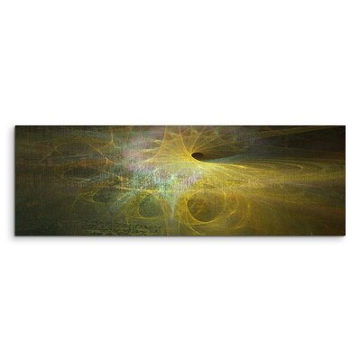 PaulSinusArt Enigma Panorama Abstrakt 1153 Painting Print on Canvas