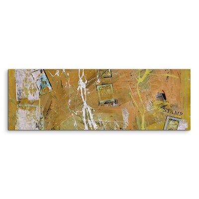 PaulSinusArt Enigma Panorama Abstrakt 586 Painting Print on Canvas
