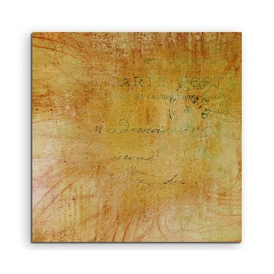 PaulSinusArt Enigma Abstrakt 1008 Painting Print on Canvas
