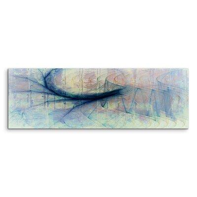 PaulSinusArt Enigma Panorama Abstrakt 1167 Painting Print on Canvas
