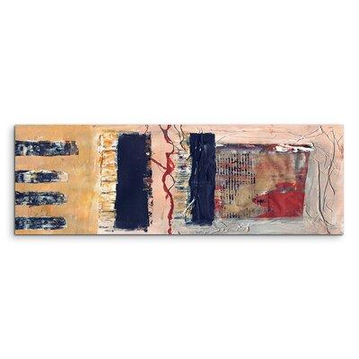 PaulSinusArt Enigma Panorama Abstrakt 550 Painting Print on Canvas