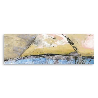 PaulSinusArt Enigma Panorama Abstrakt 552 Painting Print on Canvas