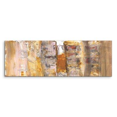 PaulSinusArt Enigma Panorama Abstrakt 591 Painting Print on Canvas