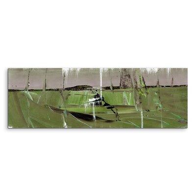 PaulSinusArt Enigma Panorama Abstrakt 592 Painting Print on Canvas