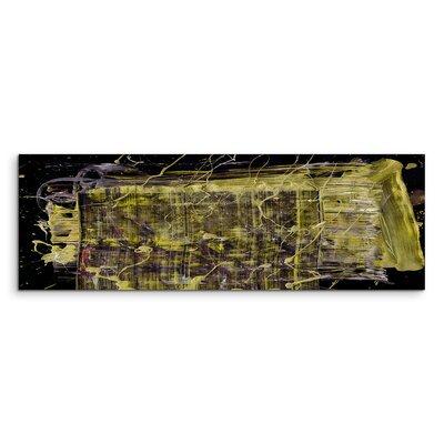 PaulSinusArt Enigma Panorama Abstrakt 593 Painting Print on Canvas