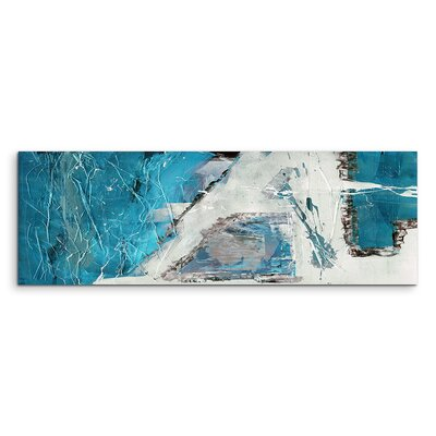 PaulSinusArt Enigma Panorama Abstrakt 595 Painting Print on Canvas