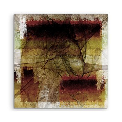 PaulSinusArt Enigma Abstrakt 1013 Painting Print on Canvas