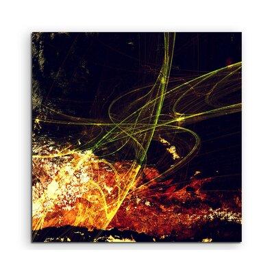 PaulSinusArt Enigma Abstrakt 1044 Painting Print on Canvas