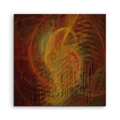PaulSinusArt Enigma Abstract 1050 Photographic Print on Canvas