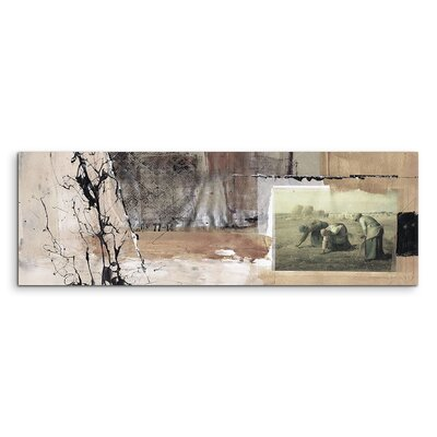 PaulSinusArt Enigma Panorama Abstrakt 556 Painting Print on Canvas