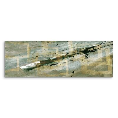 PaulSinusArt Enigma Panorama Abstrakt 557 Painting Print on Canvas