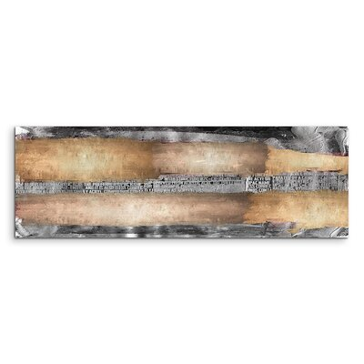 PaulSinusArt Enigma Panorama Abstrakt 773 Painting Print on Canvas