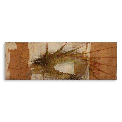 PaulSinusArt Enigma Panorama Abstrakt 1004 Painting Print on Canvas
