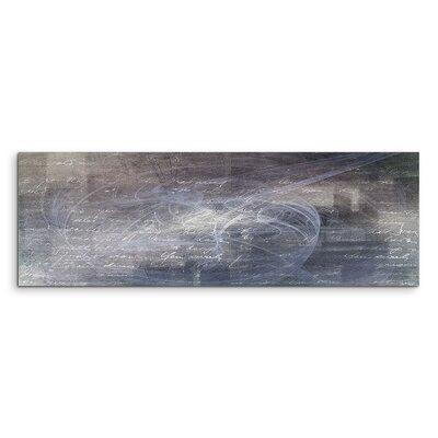 PaulSinusArt Enigma Panorama Abstrakt 1006 Painting Print on Canvas