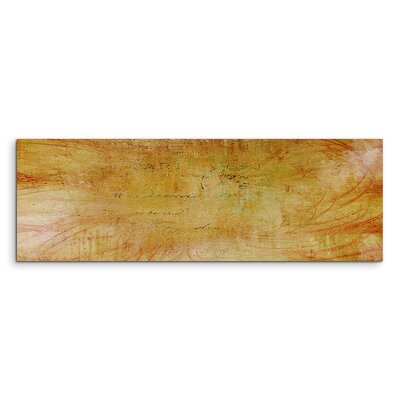 PaulSinusArt Enigma Panorama Abstrakt 1008 Painting Print on Canvas