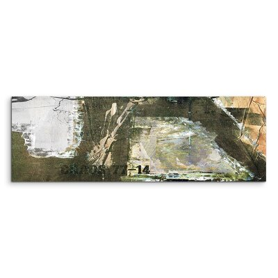PaulSinusArt Enigma Panorama Abstrakt 565 Painting Print on Canvas
