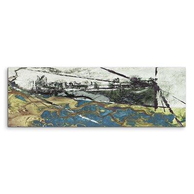 PaulSinusArt Enigma Panorama Abstrakt 560 Painting Print on Canvas