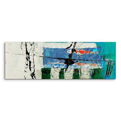 PaulSinusArt Enigma Panorama Abstrakt 573 Painting Print on Canvas